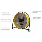 Przenośny wentylator (cyrkulator) DF 20 P