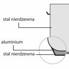 Garnek wysoki d 160 mm 2,5 l z pokrywką