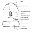 Ultradźwiękowy nawilżacz TH 307 - konstrukcja