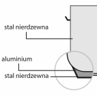 Garnek wysoki d 500 mm 98,2 l z pokrywką